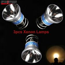 3pcs 6V 180 lumens Xenon Bulb Lamp Reflector Assembl for UltraFire Surefire P60