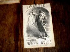 L'insensé scène dramatique chantée par Morere 1890 Georges Rupès