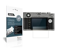 2x Leica M-E (Typ) 240 Schutzfolie matt - Anti-Shock 9H Folie dipos Glass