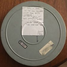 Very Rare Vintage 16mm Movie Film 1600ft Metal Reel w/ Various Old Film Content