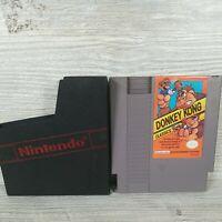 Donkey Kong Classics NES Nintendo with Sleeve TESTED