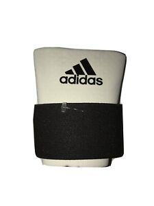 adidas Pro Series Baseball Wrist Support Strap Guard Sleeve White Medium MLB