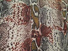 3 yards stretch spandex lycra fabric golden glitter decoration animal print