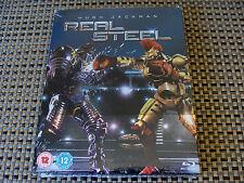 Blu Steel 4 U: Real Steel : Limited Edition Steelbook : Sealed