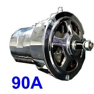 Alternator upgrade 90amp VW CHROME for (55a) Beetle Van EAP™