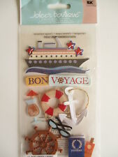 JOLEE'S BOUTIQUE STICKERS - BON VOYAGE cruise ship