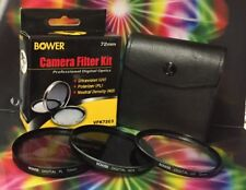 BOWER FILTER KIT PL+ND 4+UV to your lens: Sony DT 16-50mm F2.8 SSM Zoom Lens