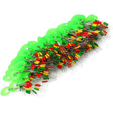 100Pcs Fishing Line Connector Rubber Float Stopper Space Beans Tackle Tool