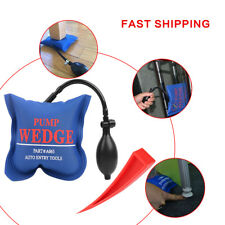 Automotive Entry Air Pump Wedge & Inflatable Hand Pump For Door Window US