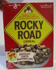 """""""New"""" Rocky Road Cereal Box 1985 general mills"""