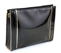 76b8e95c608 100% Auth Yves Saint Laurent Beaute YSL Cosmetic Bag Pouch Makeup Clutch Bag
