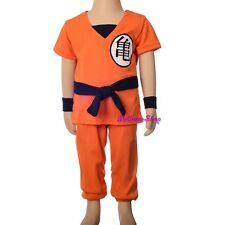 Dragon Ball Z Son Goku Fancy Costume Outfit Halloween Party Kid Size 2-3T FC046