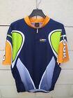 Maillot cycliste LOOK bleu marine cycling jersey shirt maglia ciclismo XL 5 52