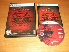 THE WITCHER   PC DVD WITH PAPER MANUAL . FAST POST