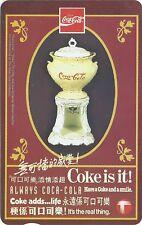 TK Telephonkarte/Phone Card Coca-Cola & KFC - 10th Hong Kong Anniversary Folder