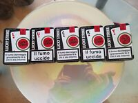 Rarissima serie Completa LUCKY STRIKE da Poker custodie in Latta da collezione