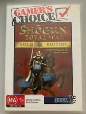 Total War Shogun Gold Edition for PC DVD Real Time Strategy RTS Game
