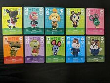 Animal Crossing Amiibo Cards , Series 2 New and Unscanned × 10