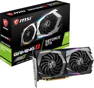 MSI GeForce GTX 1660 Ti Gaming X 6GB GDDR6 PCIE 3.0 Graphics Card - Brand New