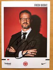 Fredi Bobic AK Eintracht Frankfurt Autogrammkarte 2019-20 original signiert