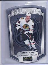 16-17 2016-17 O-PEE-CHEE PLATINUM PATRICK KANE NHL LOGO CREST DIE-CUT BLACKHAWKS