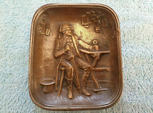 Rare Vintage Cast,. Trinket Dish. Brass.