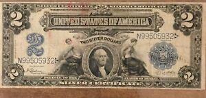 1899 $2 Dollar Bill Silver Certificate