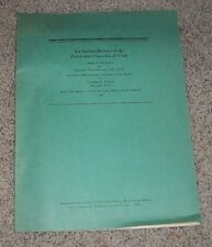 AN OUTLINE HISTORY of the PROTESTANT CHURCH of UTAH by Herbert Ware Reherd 1948