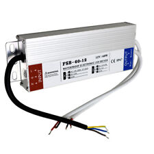 LED Alimentation Électrique Conducteur Transformateur DC12V 60W Ultra Fin AC230V