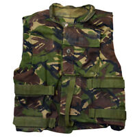 BRITISH ARMY SURPLUS WOODLAND DPM BODY ARMOUR OVER COVER VEST JACKET ISSUED
