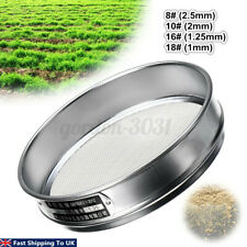 More details for heavy duty garden riddle compost sieve mesh green soil tray gardening tool gb uk