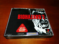 BIOHAZARD 2  SONY PLAYSTATION PSX PS2 Jap PS1,PS2 SPINE CARD + REG CARD