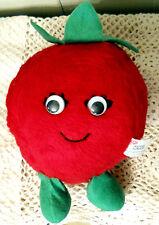"Del Monte Country Yumkin Plush Reddie Tomato 7"" Toy Stuffed Animal Toy Vtg 1982"