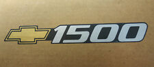 OEM 1999-2000-2001-2002 Silverado 1500 Gold Bowtie Door Decal Sticker 99 01 02