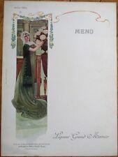 Grand Marnier 1910 Art Nouveau French Advertising Menu - Madame Tallien
