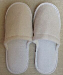 White Slippers One Size Fits All