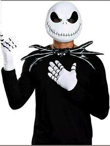 Licensed The Nightmare Before Christmas Jack Skellington Adult Men Costume Kit