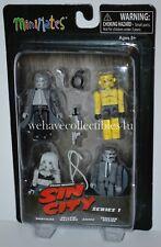 Sin City Minimates Series 1 Box Set That Yellow Bastard: Hartigan, Nancy, Roark