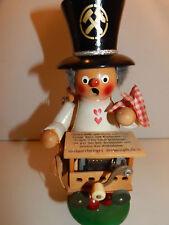 VTG ORGAN GRINDER Crank Music Steinbach  NUTCRACKER Smoker Wood Figurine TOBACCO