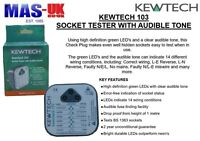 Kewtech 103 Socket Tester with Audible Sound