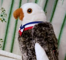 Valor The Bald Eagle TY Beanie Buddy Retired *FF3