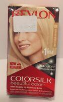 Revlon Colorsilk With Keratin Permanent Hair Dye #04 Ultra Light Natural Blonde