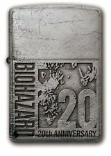 Biohazard Resident Evil 20th Zippo 20th Logo Japan Lighter #With tracking F/S