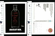 ABSOLUT VODKA - COLLECTION N° 117 - ABSOLUT BEN. - 56882