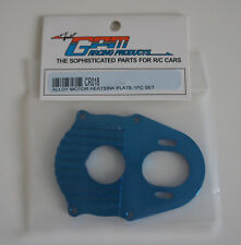 GPM Tamiya CR01 Alloy Motor Heat Sink Plate - Blue CR018