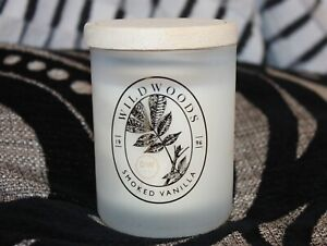 DW Home Autumn Range Smoked Vanilla Hand Poured Candle 3.8oz Wood Wick