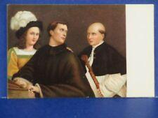 Giorgione Ji concerto Firenze Printed in Italy Vintage Postcard Unused Pc13