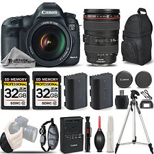 Canon Eos 5D Mark Iii 22.3 Mp Dslr Camera + 24-105mm f/4L Is Usm - Loaded Kit