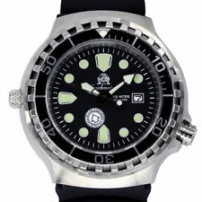 German COMBAT-DIVER 100 ATM WR HELIUM-SAFE DAY-DATE T0248