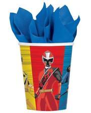 Power Rangers Ninja Steel 9 oz Paper Cups 8 Per Package Birthday Party Supplies